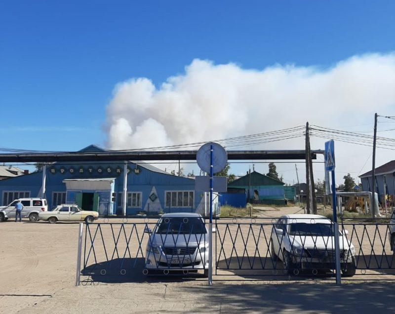 Неосторожное обращение с огнем привело к лесному пожару в Вилюйском районе