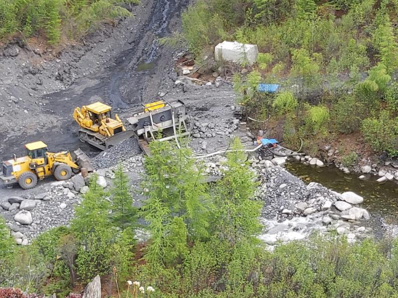 В Якутии незаконно добыли золото на сумму свыше 5 млн рублей (ВИДЕО)