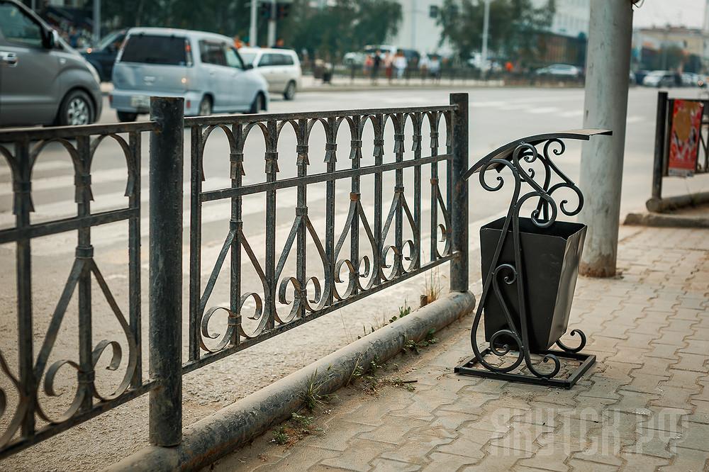 На улицах Якутска установлены новые урны