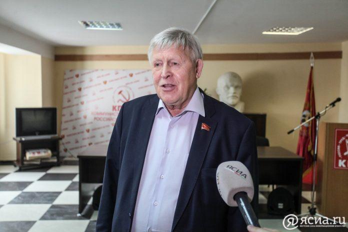 Виктор Губарев: Вопрос о кандидате на пост мэра Якутска от КПРФ еще не решен