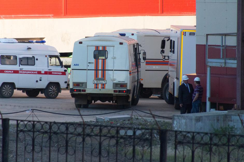 АЛРОСА проинформировала отяжелом состоянии эвакуированного шахтера