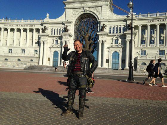2-59-560x420 Якутский байкер два месяца колесил на мотоцикле по стране