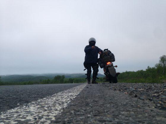 3-14-560x420 Якутский байкер два месяца колесил на мотоцикле по стране
