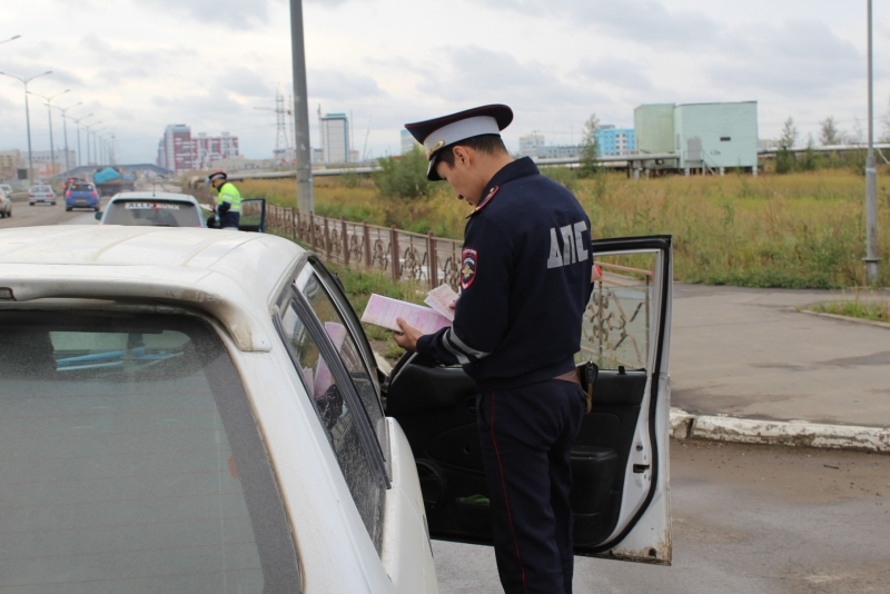 За майские выходные в Якутске было задержано 60 нетрезвых водителей