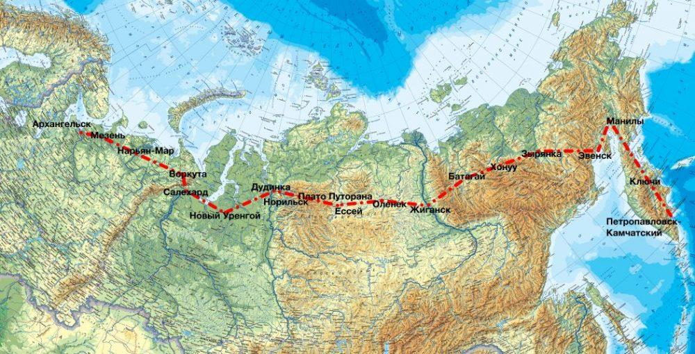 Участники экспедиции «На Восток» погостили в селе Хонуу