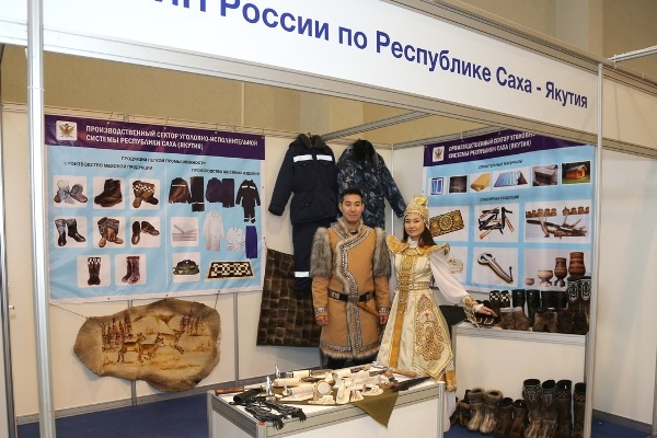 Тульский УФСИН продемонстрировал намеждународной выставке одежду исувениры, сделанные заключенными