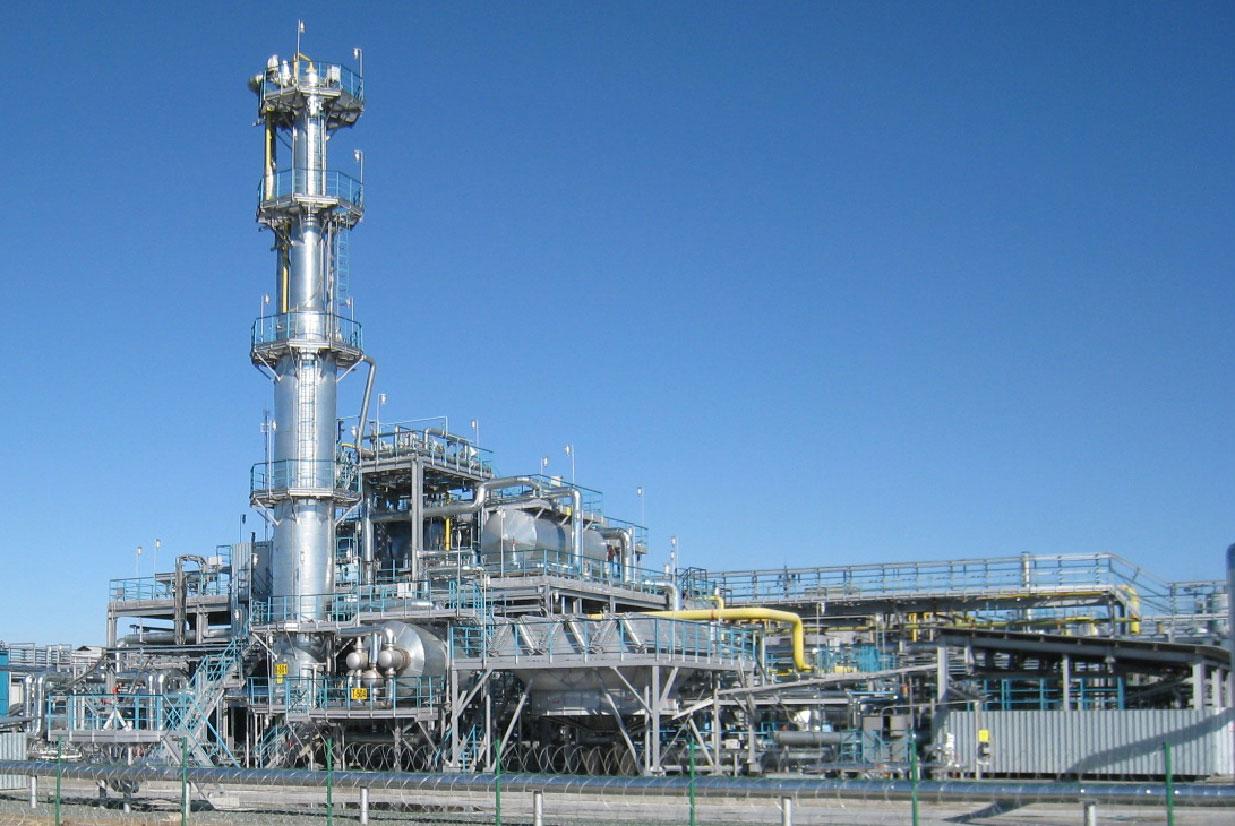 В Туркмении началось строительство нового завода по переработке газа