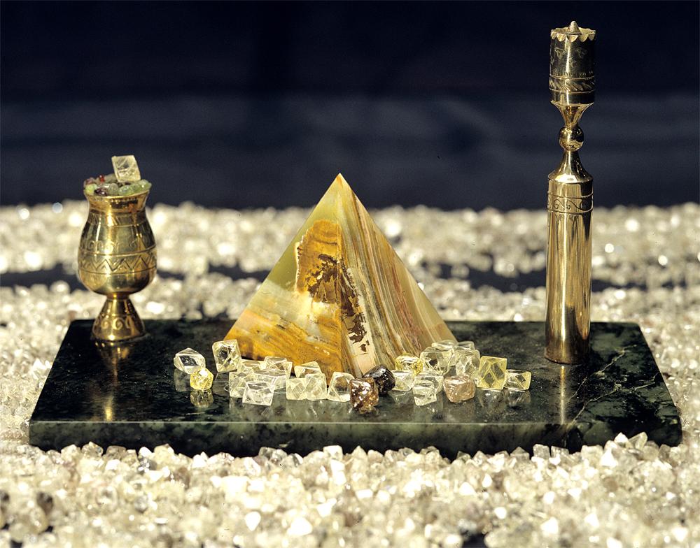 АЛРОСА в 2017г планирует добыть неменее 39 млн. карат алмазов