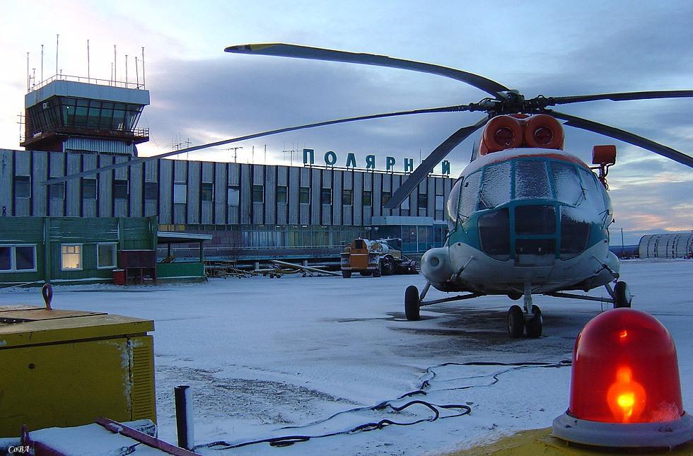 В аэропорту «Полярный» обновят 2,5 км взлетно-посадочной полосы