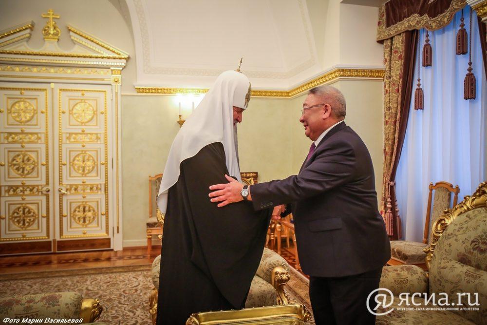 Владимир Путин поздравил сднем рождения Патриарха Кирилла
