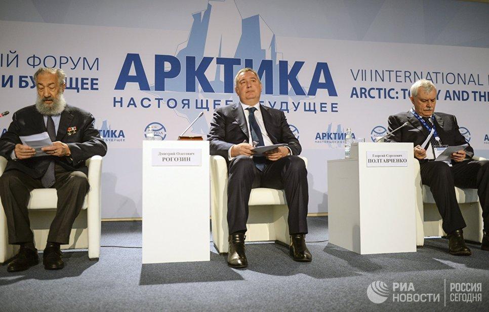 Дмитрий Рогозин: Единым куратором поАрктике будет определен «Росатом»