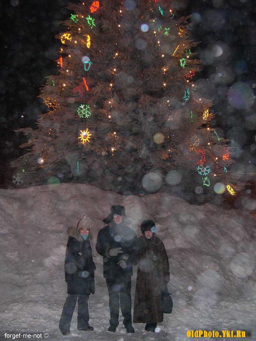 2005_ykt Как менялись главные новогодние елки Якутска