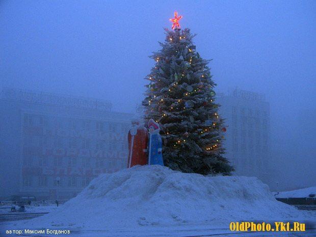 2007_ykt-e1513325957285 Как менялись главные новогодние елки Якутска