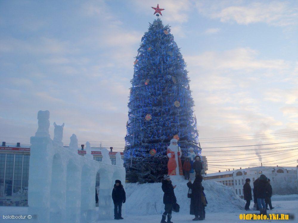 2009_ykt-1-e1513327313283 Как менялись главные новогодние елки Якутска