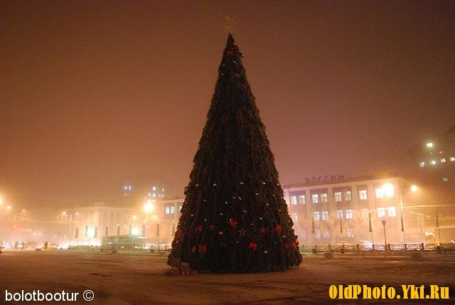 2010_ykt Как менялись главные новогодние елки Якутска