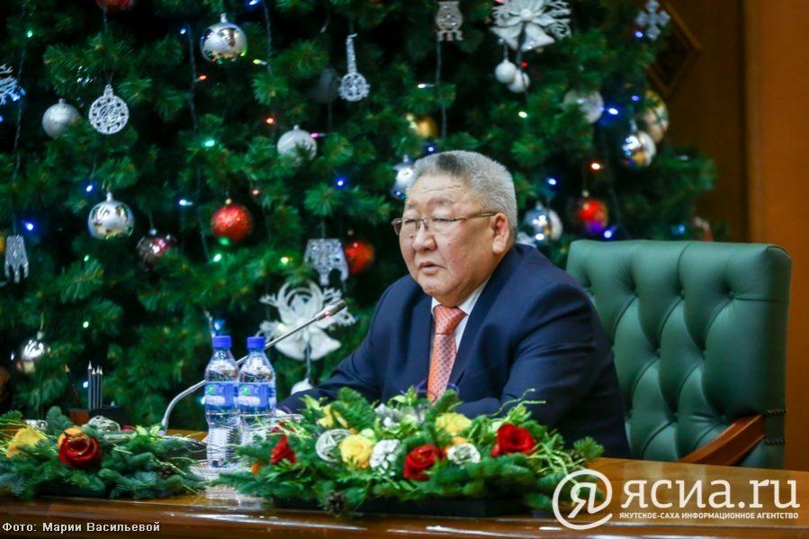 Егор Борисов: В 2017 году в Якутии успешно выполнены социальные обязательства, сохранены темпы роста