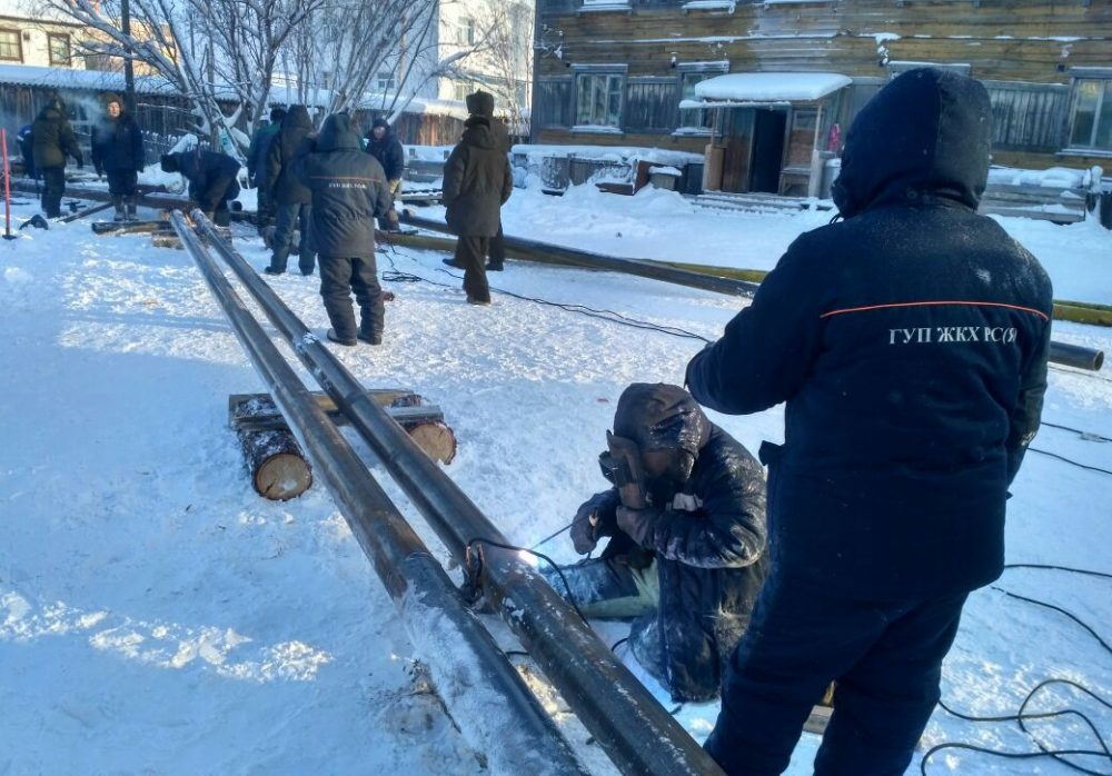 Вякутском селе после взрыва накотельной начали подавать тепло