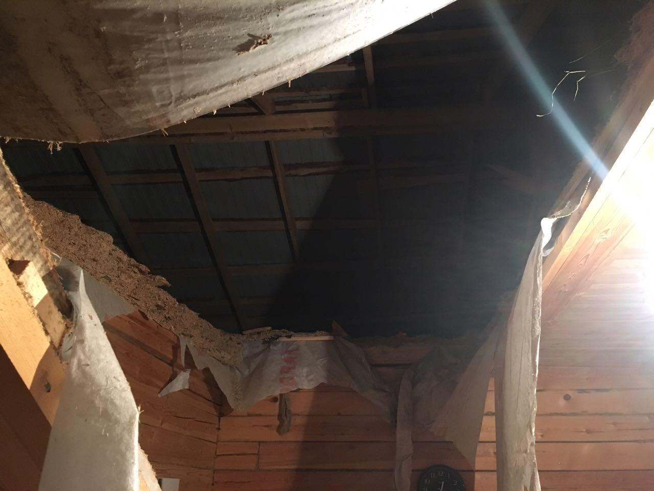 Следком начал проверку пофакту обрушения потолка вдоме для сирот