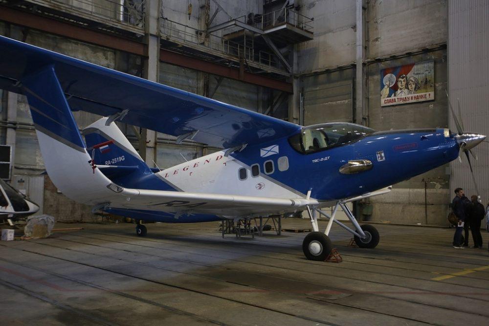 К будущему 2019-ому году вБурятии планируют начать производство лёгких самолетов
