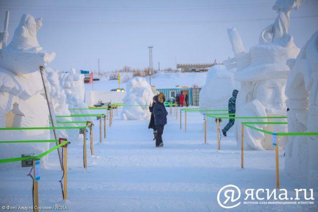 IMG_0224-630x420 В Якутске открылся ледовый городок «Северное сияние»
