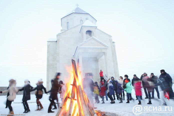 IMG_0960-696x464 Масленица и День святого Валентина по-армянски: В Якутске отметили национальный праздник Терендез