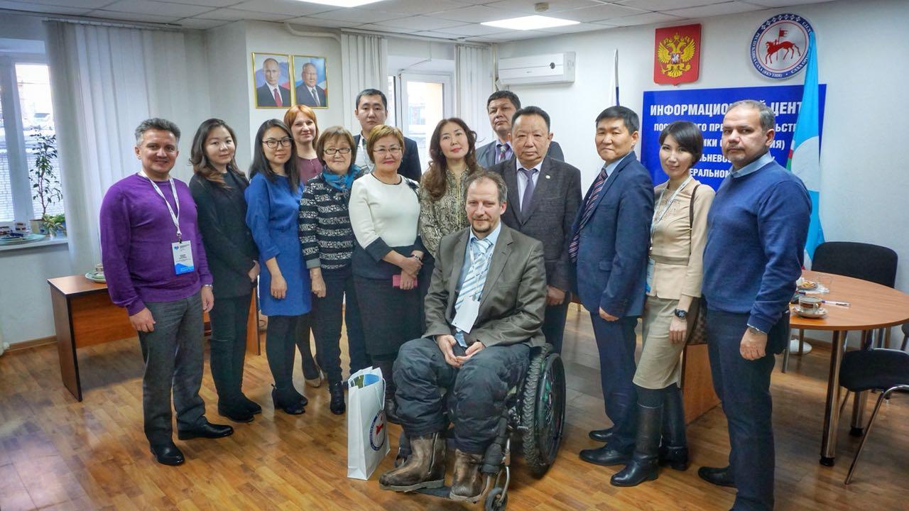 В постпредстве Хабаровска состоялась встреча с участниками Медиафорума ДФО из Якутии
