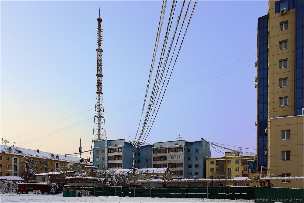 Телебашня вНижнекамске погасила огни взнак скорби попогибшим вКемерово