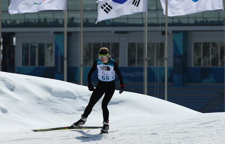 Русские  биатлонистки Румянцева иМиленина выиграли золото исеребро наПаралимпиаде