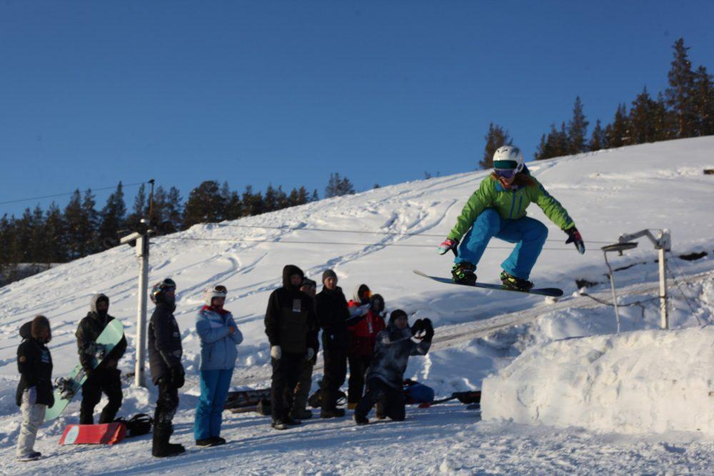 В Нерюнгри определены победители соревнований по сноуборду