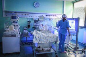 В Якутске в новом перинатальном центре родился первый малыш