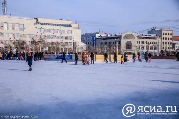 IMG_9362-630x420 В центре Якутска открылся новый общественный каток