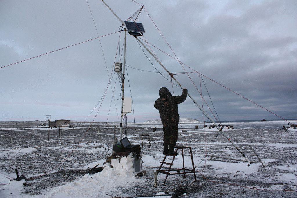"""""""SOS"""" в Арктике, или Почему ошибаются синоптики"""