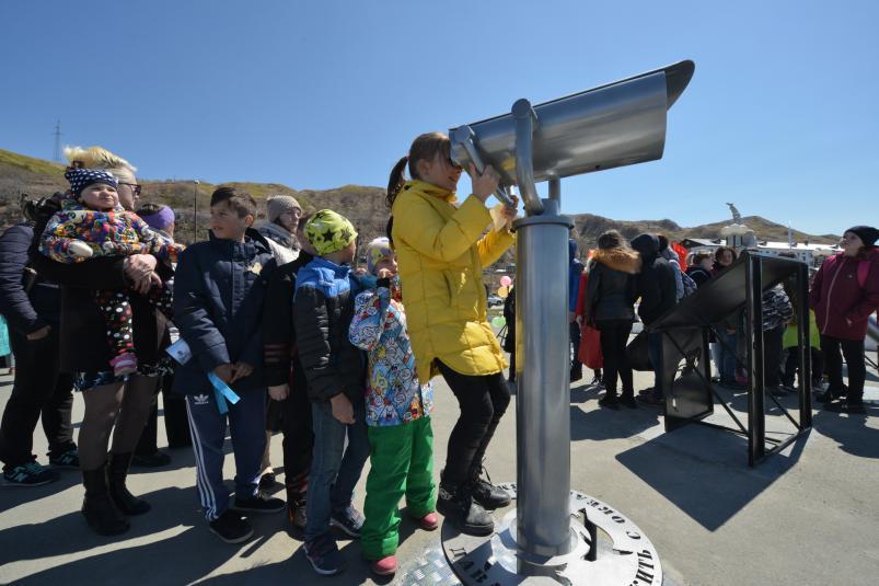 Первую смотровую площадку для наблюдения за сивучами открыли на Сахалине