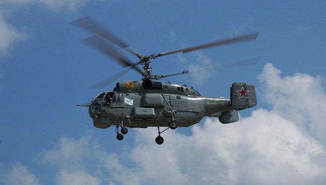 Русский военный вертолет потерпел крушение врайоне Балтийского моря, два летчика погибли