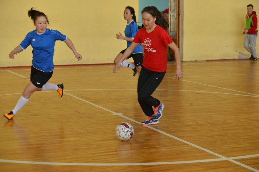 В Якутске состоялся турнир по мини-футболу среди женских команд