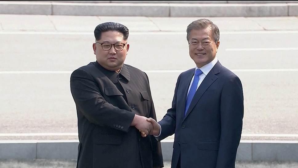 Президент Южной Кореи и лидер КНДР проводят переговоры