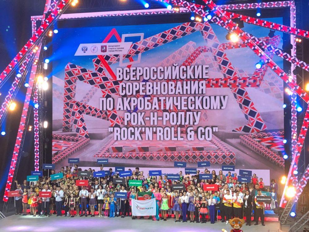 Команды по акробатическому рок-н-роллу из Якутии стали призерами всероссийских соревнований