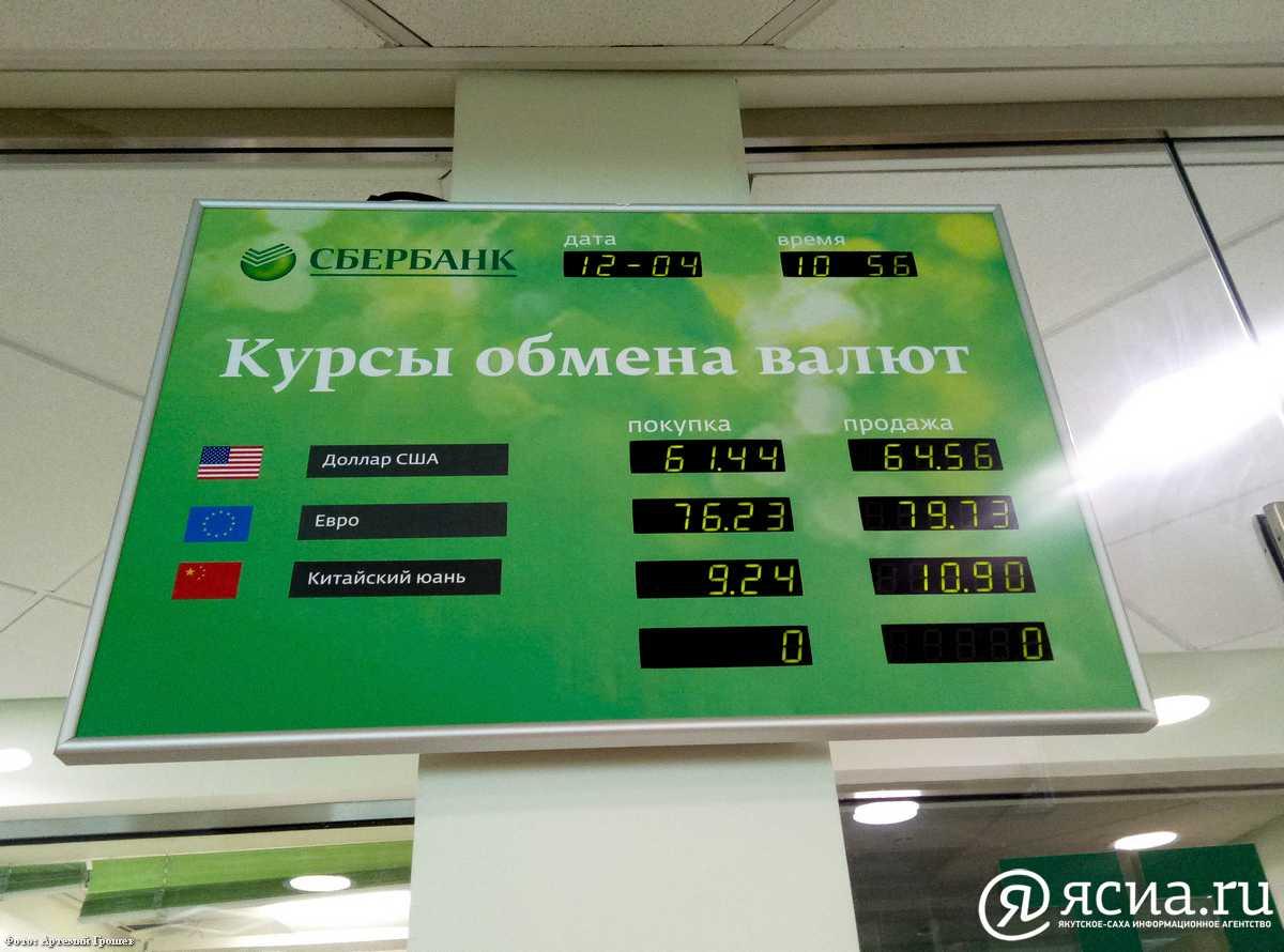 Курс евро в Сбербанке, Новосибирск на сегодня