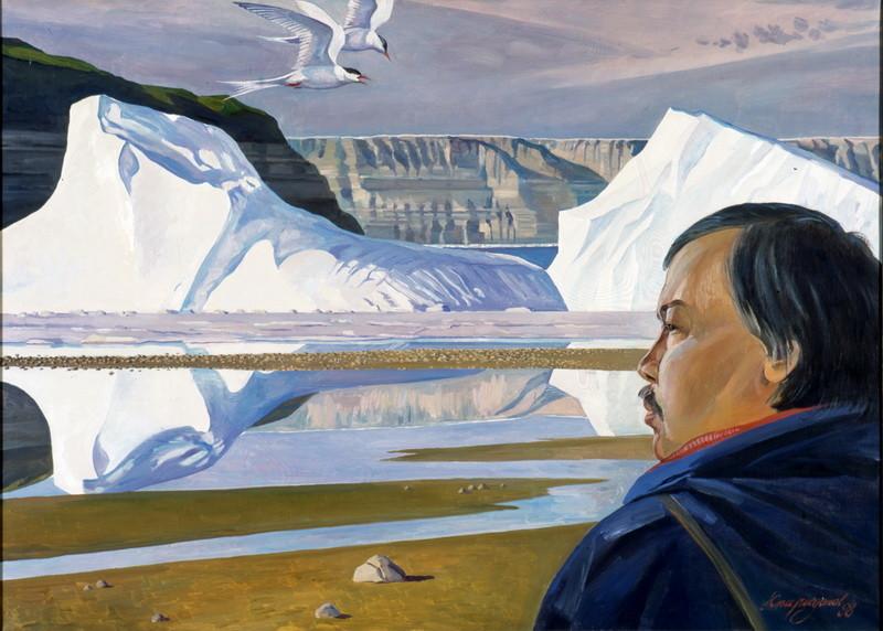 Север - вселенная художника. Любовь, вознесенная в ранг искусства
