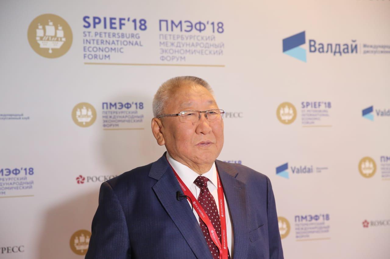 Егор Борисов подвёл итоги работы на Петербургском экономическом форуме