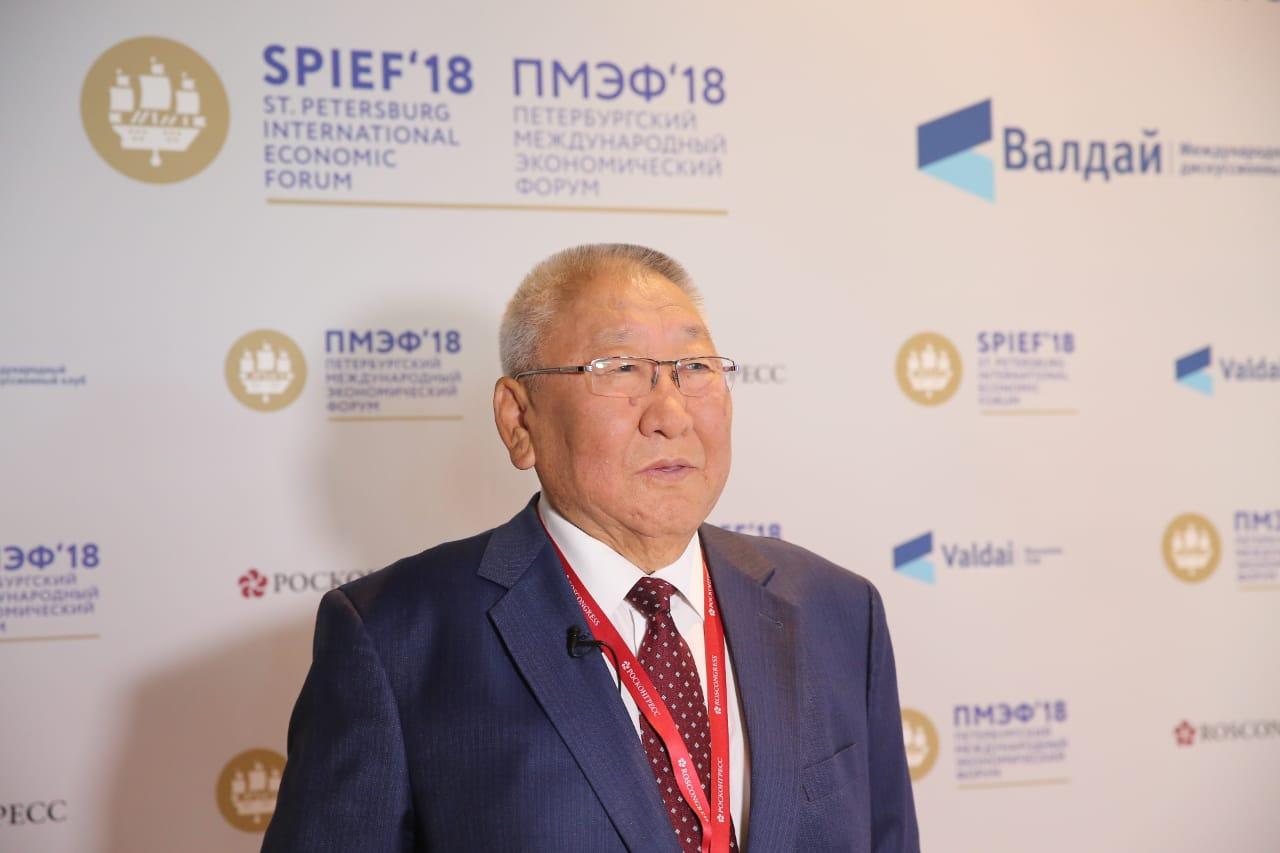 Егор Борисов: «Петербургский форум определит вектор развития на многие годы вперед»