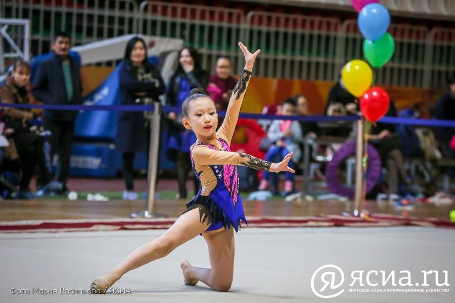 """Будущие звездочки """"Детей Азии"""": В Якутске стартовали соревнования по художественной гимнастике"""