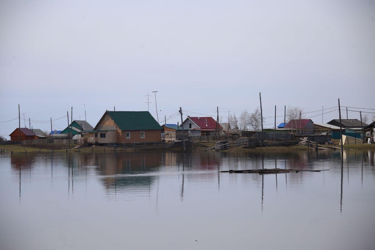 В Октемцах уровень воды в Лене снизился на 5 сантиметров