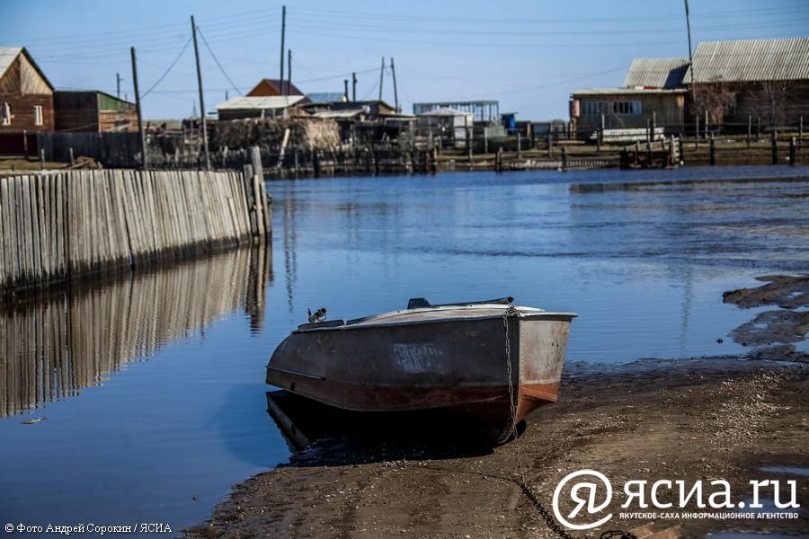 У Октемцев уровень воды в Лене снизился на 15 сантиметров