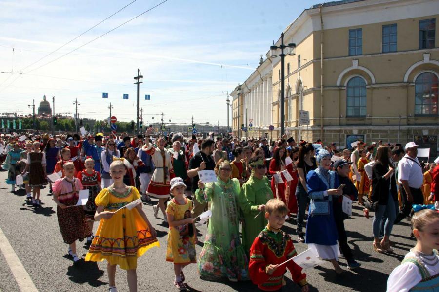 Якутское землячество представило культуру народов республики Балу национальностей в Петербурге
