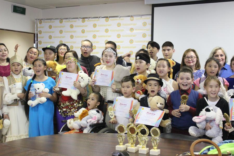 Солнечный мир: Особенные дети продемонстрировали свои таланты