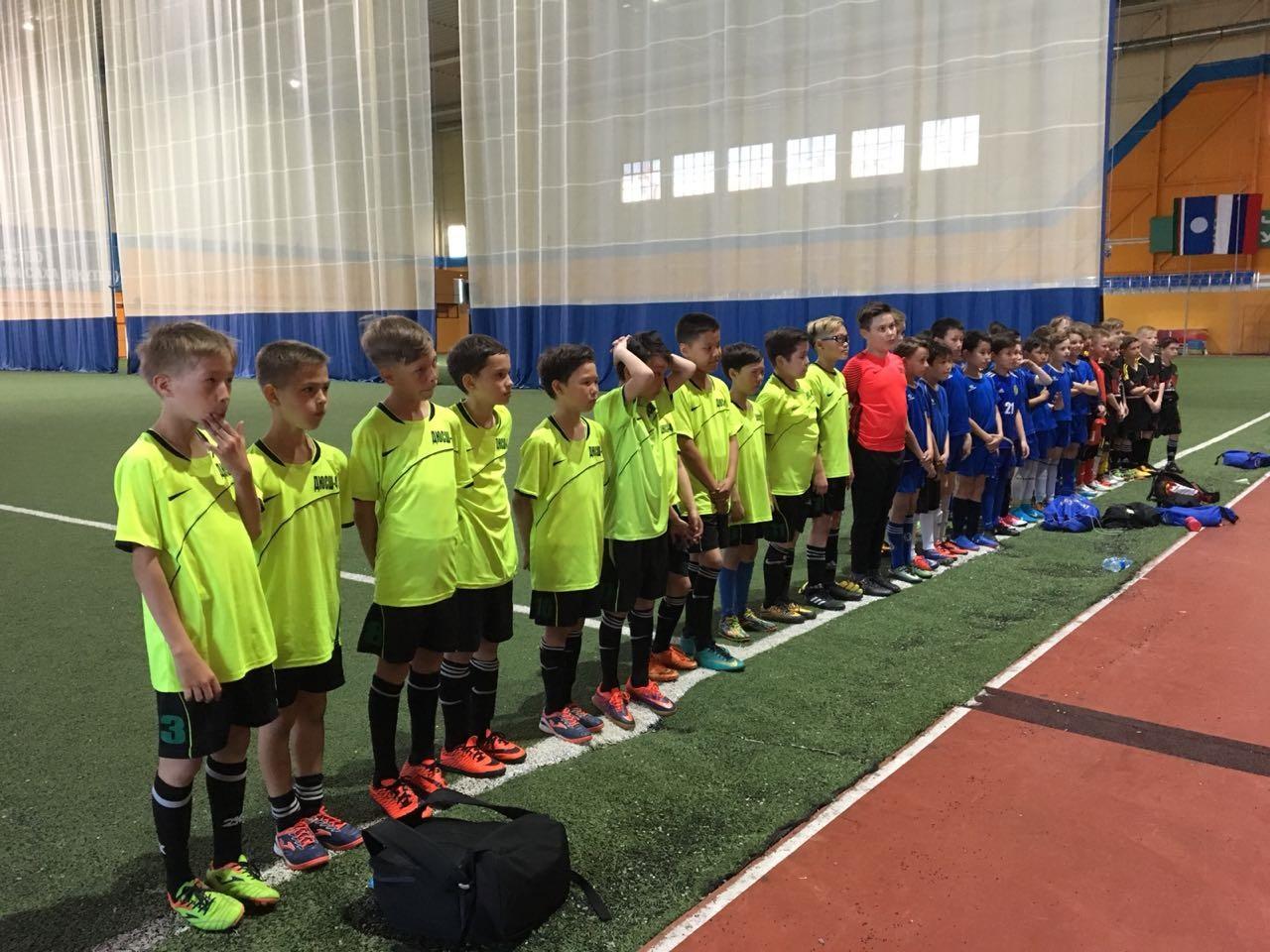 Воспитанники ДЮСШ №4 стали чемпионами турнира «Локобол»