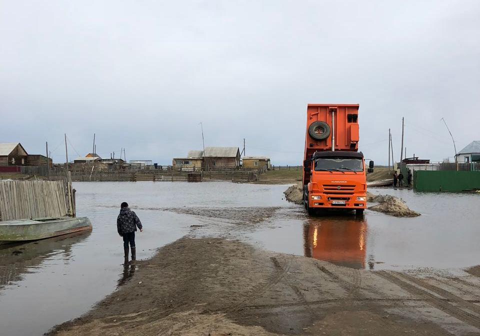 Жительница Октёмцев: Надеемся, что большого наводнения, как в 2010 году, не будет