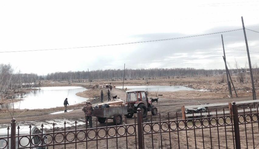 В селе Чериктей Усть-Алданского района из-за паводка введен режим ЧС
