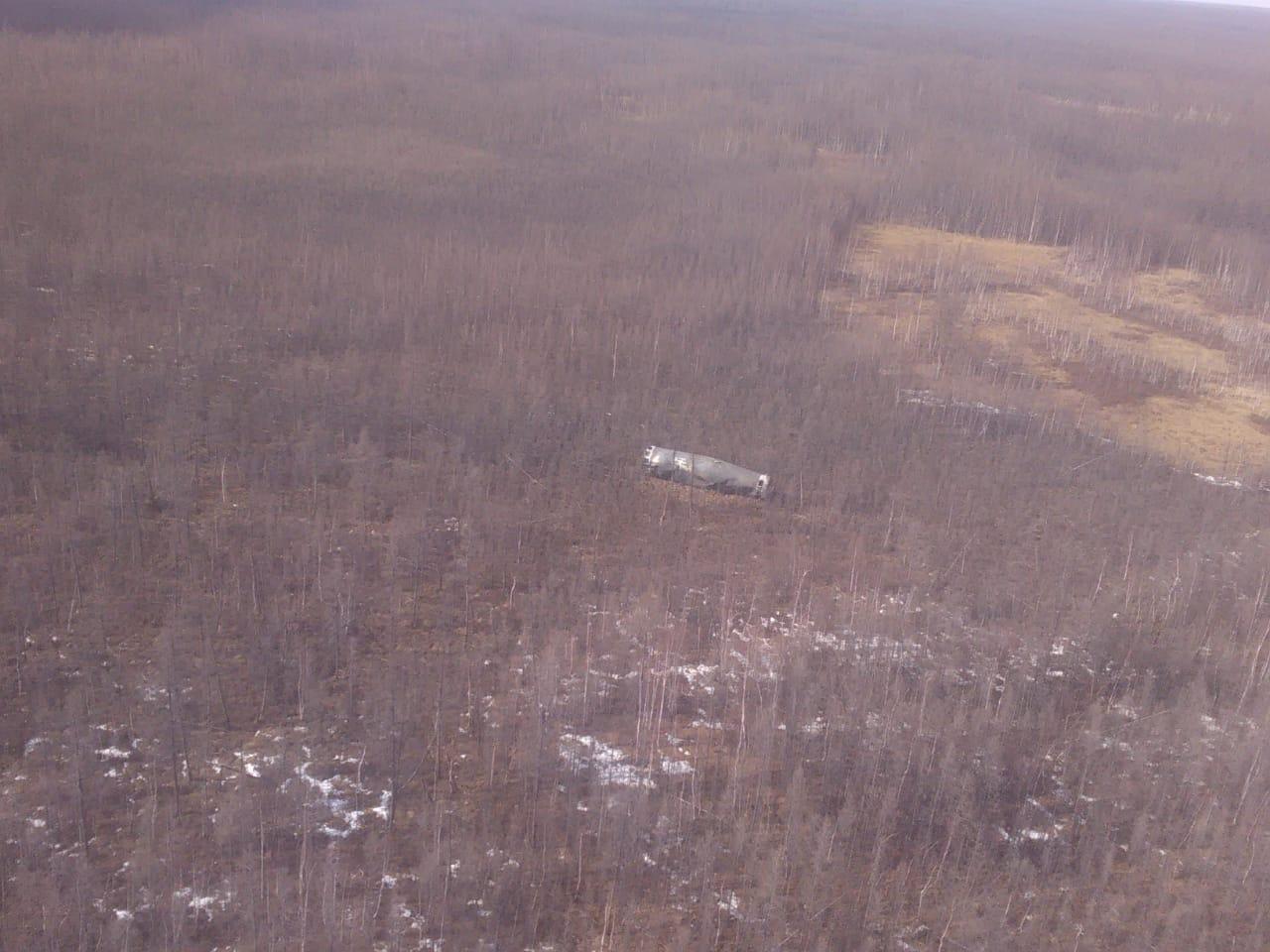 В Вилюйском улусе обнаружено семь фрагментов ракеты-носителя «Союз-2»